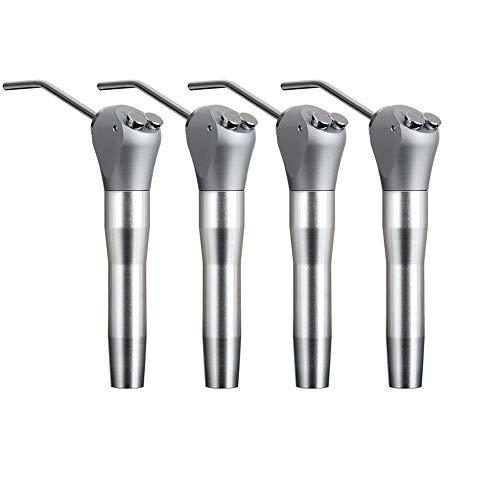 Jeringa de aire dental, jeringa de agua de 3 vías, puntas de control de flujo de aire, negro