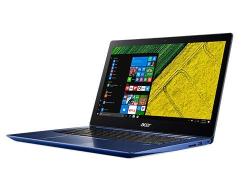 Acer Swift 3 SF314-52 14-inch Laptop (Intel Core i5-8250U/4GB/256GB/Windows 10 Home Single Language/Integrated Graphics), Stellar Blue