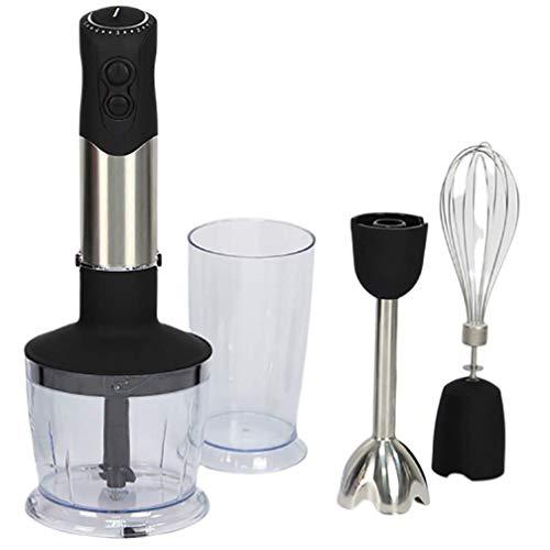 4-in-1 Stabmixerset, manueller Küchenmischer manuelle Edelstahl-Mischer, 850 W blender blender Küchenmaschine blender Küchenmaschine, Stabmixer, 600 ml Behältertopf Zixin