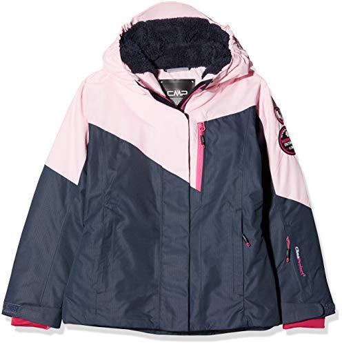 CMP Mädchen Wattierte 3000 Ripstop Skijacke Jacke, Asphalt, 164