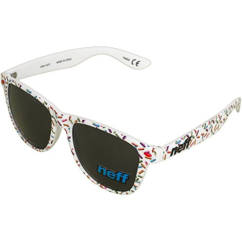 Neff - Gafas de sol - para hombre Blanco blanco