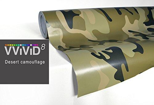 VViViD XPO Desert Camo Vinyl Car Boat Vehicle Wrap 5ft x 3ft Vinyl Car Boat Vehicle Wrap Self Adhesive Stretch Conform Decal DIY