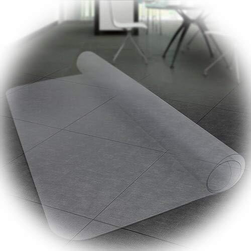 Chair Mat GUORRUI Hard Floor Mat Office Scratchproof Household Floor Mat Odorless 2 Thicknesses (Color : 1mm, Size : 90x140cm)