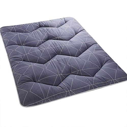 EVTSCAN Folding Mattress, Non-Slip Foldable Breathable Tatami Ground Mat Soft Mat Mattress Pads Room Decor, Best Choice for Travel Camping & Room (120200CM)