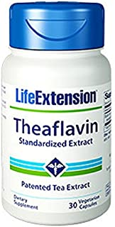 Life Extension Theaflavin Standardized Extract 30 Vegetarian Capsules