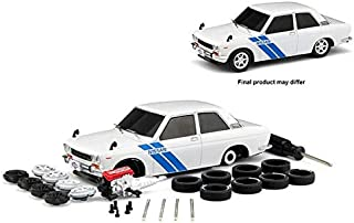 New DIECAST Toys CAR M2 MACHINES 1:24 Model-KIT - 1970 Datsun 510 (White) 47000-07-1