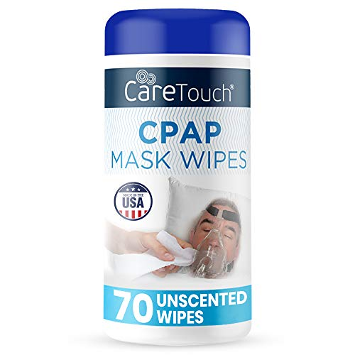 Care Touch - CMW70 CPAP Cleaning Mask Wipes - Unscented, Lint Free - 70 Wipes