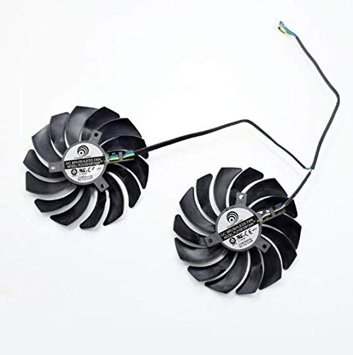 QHXCM voor 95MM PLD10010B12HH 4Pin Cooler Fan Voor MSI GTX 1060 1070 1080Ti RX480 470 480 570 580 Graphics Card Cooling Fan