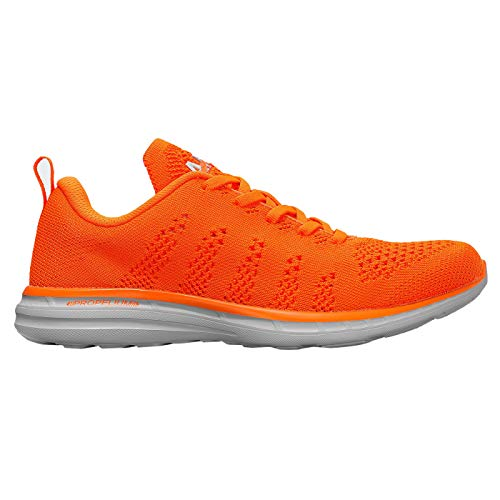 APL: Athletic Propulsion Labs Women's Techloom Pro Sneakers (8, Molten/Platinum)