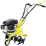 Craftfull Benzin Gartenfräse 139cc 4-Takt Motor - Easy-Pullstart - Selbstantrieb