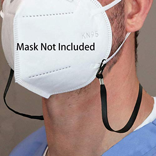 Adjustable Length Face Mask Lanyard