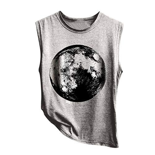 Luckycat Camisetas Mujer Manga Corta Gatos Camiseta con Estampado De Gato para Mujer Camisetas Deporte Mujer Talla Grande Camisetas Tirantes Mujer Tallas Grandes Patrones Multiples 2019