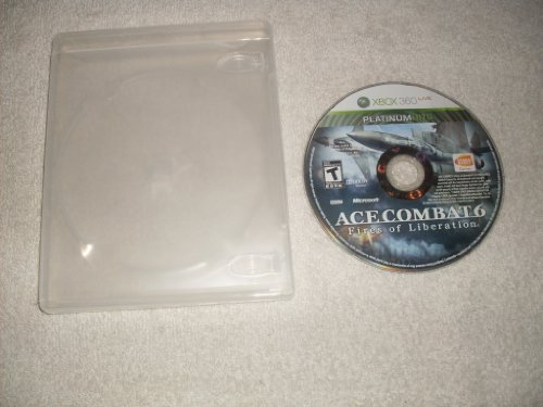 [UK-Import]Ace Combat 6 Fire Of Liberation Game XBOX 360