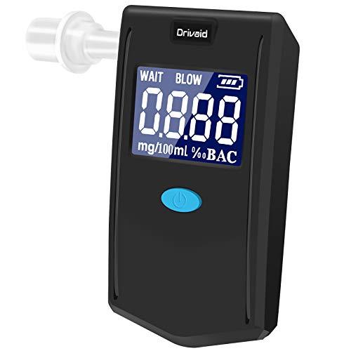 Drivaid Ethylotest Electronique, Alcootest Portable avec Cap