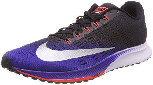Nike Air Zoom Elite 9, Zapatillas de Running para Hombre, Negro (Negro/Rojo / Azul/Plateado 405), 43 EU