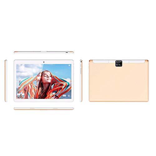 SSSY Tablet 10 Pulgadas Android 5.1, 2G Tableta de Procesador Octa-Core, 1GB RAM + 16GB ROM, 6000mAh, WiFi/Bluetooth/GPS, para Videos HD, Películas, Juegos