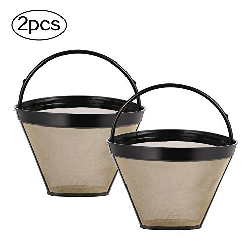falllea 2 Stks Merk Herbruikbare Vervangende Cuisinart Koffie Filter vervangt uw Permanent Cuisinart Koffie Filter voor Cuisinart Machines en Brouwers