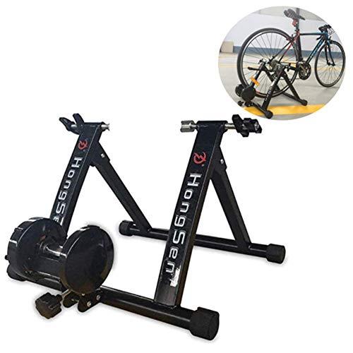 WXZJ Vélo Stand Indoor Trainer, Vélo Fluid Trainer, Résistance Variable Vélo Formateur-Fil Contrôlé pour 24-27 Bikes Pouces Ou Roue 700C