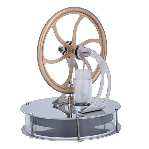 Duevin Kit Motor Stirling, Spielzeug für Wärme- und Wärmeerziehung, für niedrige Dampf Motor, großes Geschenk für Kinder, Stirling-Generator