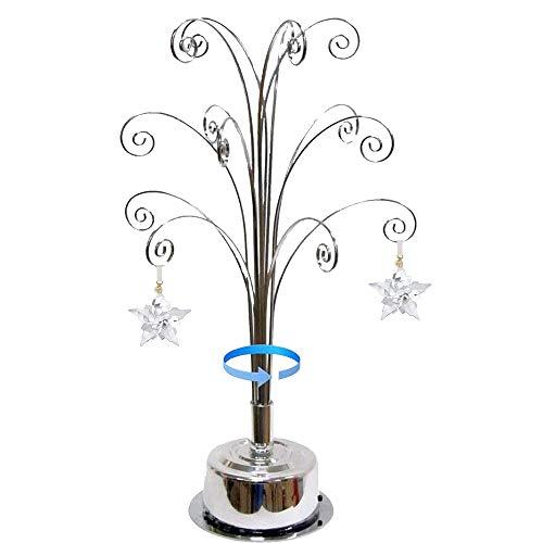 decorazioni natalizie 2021 HOHIYA per Swarovski 2021 Annuale Decorazione Ornamento Natalizia Cristallo Fiocco di Neve Espositore
