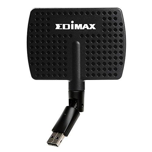 Edimax AC600 Adattatore Wi-Fi Dual-Band USB, Nero