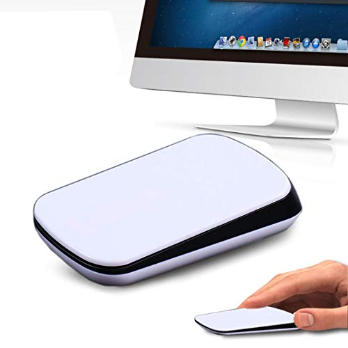 Computer TM-825 2,4 GHz 1200 DPI Draadloze Touch Scroll Optische Muis voor Mac Desktop Laptop(wit) Eenvoudig te installeren