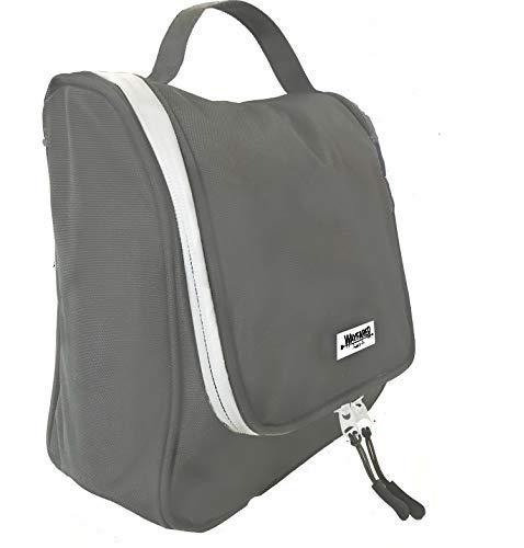 WAYFARER SUPPLY Toiletry Bag with Travel Jewelry Organizer, Grey