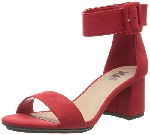 scarpe donna rosse con tacco XTI 35196