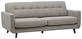 Amazon Brand – Rivet Sloane Mid-Century Modern Sofa Couch 79.9 W Pebble Grey