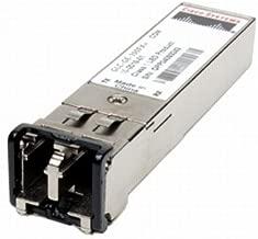 Cisco GLC-GE-100FX= SFP (mini-GBIC) transceiver module - 100Base-FX - LC multi-mode - up to 1.2 miles - 1310 nm - for Catalyst 2960, 2960G, 2960S, 2970G, 3560, 3560E, 3560G, 3560V2, 3560X, 3750, 3750G