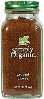 Simply Organic Ground Cloves, Certified Organic   2.82 oz   Syzygium aromaticum (L.) Merr. & L.M. Perry