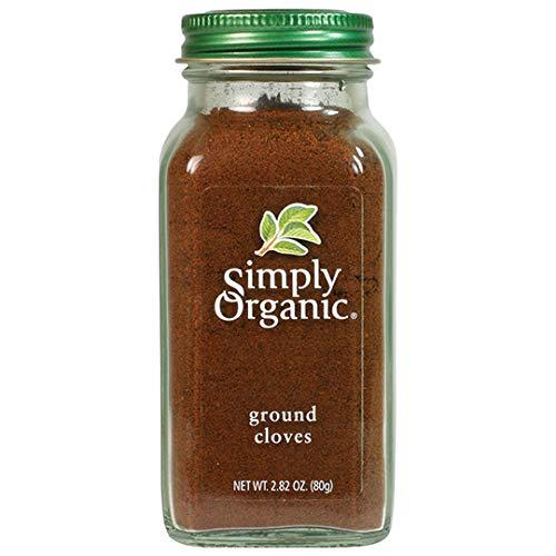 Simply Organic Ground Cloves, Certified Organic | 2.82 oz | Syzygium aromaticum (L.) Merr. & L.M. Perry