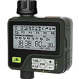 CROSOFMI Centralina Irrigazione Automatico Timer Giardino Batteria Smart Sensore di Pioggia...