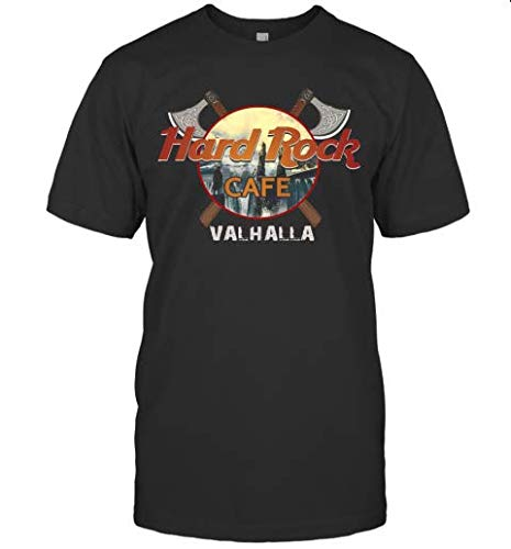 Ha.rd Rock Cafe Val.Halla T-Shirt Shirts Grey Size XL Up To 5XL