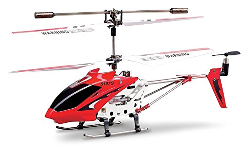 Syma S107/S107G  R/C Helicopter with Gyro- Red