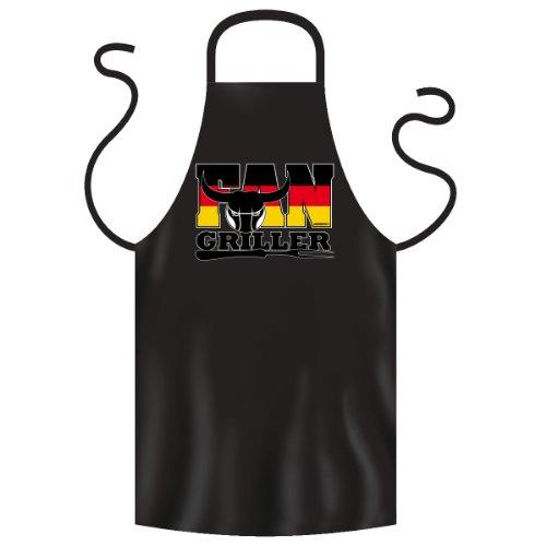 Fan Griller Schürze ideal für Grillfeste