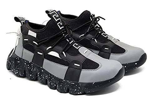 D Shoes Sneakers Running Shoes for Men's (Black, Numeric_7)