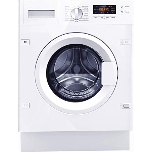 Amica AWT714S Washing Machine Integrated 7 Kg 1400 rpm A+++ Energy Rated 16 Programmes Child Lock Extra Rinse Delicate Wash