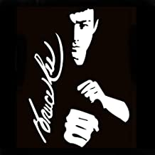 DDV- US - The 2nd Half Price 20x14.5cm Car Stickers Bruce lee Funny Motorcycle Car Accessories Vinyl Full Body car Styling