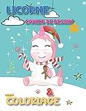 Licorne Cahier de Dessin & Coloriage: Magique et Merveilleux pour les Filles de 4 à 2 ans, Livre à Colorier avec des Dessin de plus de 30 Adorables Licornes.