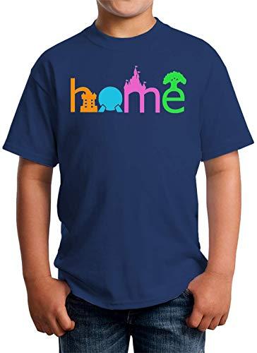 ShutUp Home T-shirt voor kinderen unisex 5-13 jaar wit - - Large