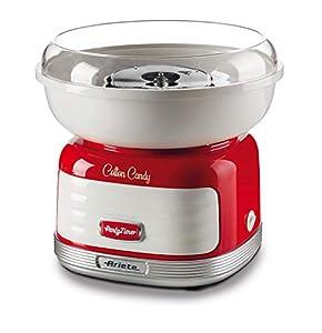 Ariete Cotton Candy Máquina para hacer azúcar, 500 W, Rojo