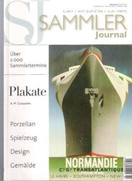 Sammler Journal März 2009 Kunst - Antiquitäten - Auktionen : Gemälde (Friedensreich Hundertwasser) Porzellan Schnitzfiguren Jugendstil
