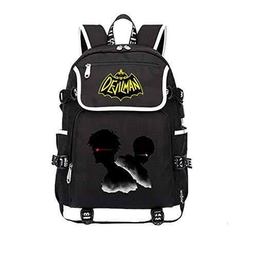Unisex DEVILAMN Crybaby Rucksäcke Schultasche Student Rucksack mit großer Kapazität Multifunktionaler Tagesrucksack Reisetasche im einfachen Stil (Color : A03, Size : 37 X 16 X 45cm)