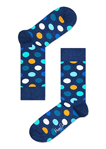 Happy Socks Unisex - Erwachsene Socken, Blau (Blau 605), 41-46