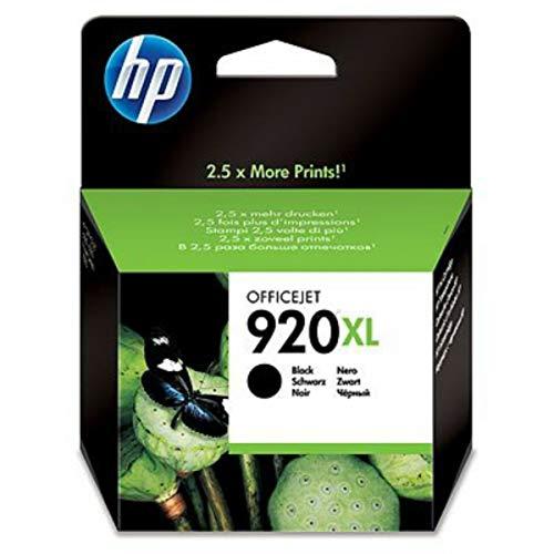 Original Tinte HP Nr 920 CD975AE XL - 1 Tinten-Patrone - Schwarz - 1.200 Seiten - 32 ml