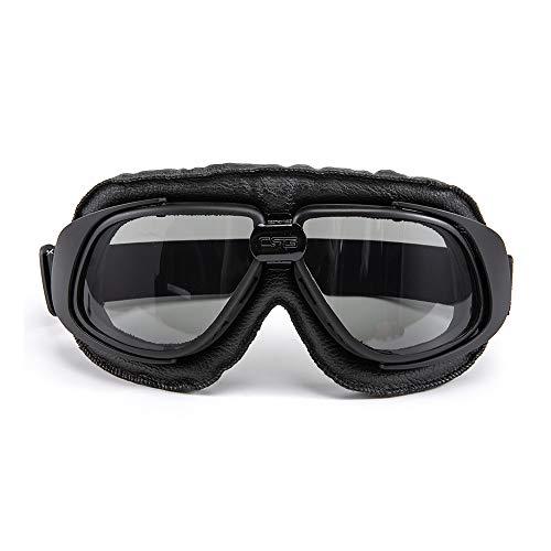 evomosa Occhiali da moto Protezione per gli occhi antivento per Motocross Cruiser Scooter Biker Racer Cruiser Touring Goggle Occhiali da sci (02)