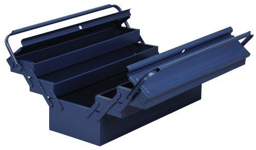 Allit 490612 McPlus 5/57 Metall-Werkzeugkasten, blau