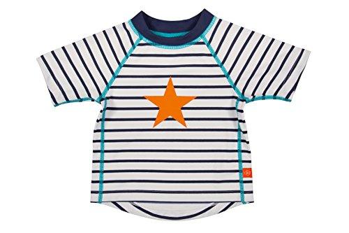 Lässig Splash & Fun Short Sleeve Rashguard / Baby Badeshirt / UV-Schutz 50+ boys, L / 18 Monate, sailor