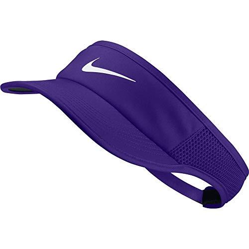 Nike W Nk Arobill Fthrlt Visor Adj - psychic purple/white, Größe:-
